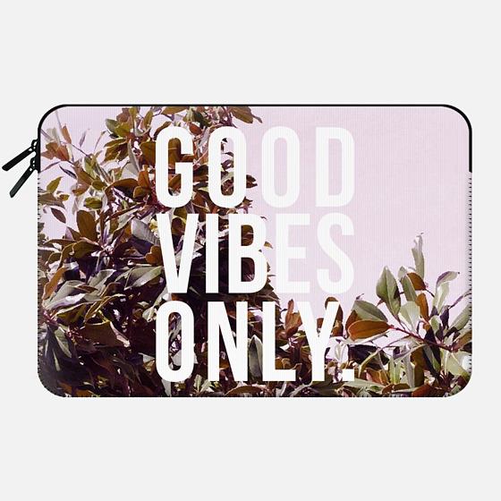 Good Vibes Only Macbook Case - Macbook Sleeve
