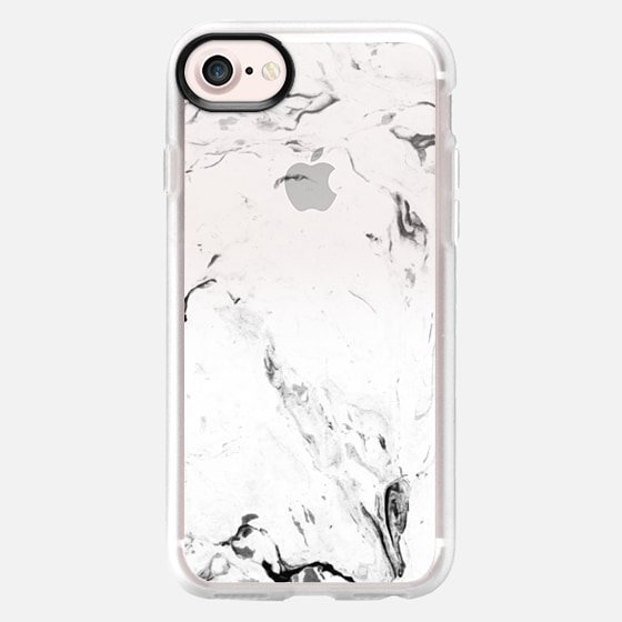 White Marble iPhone - iPod Case -