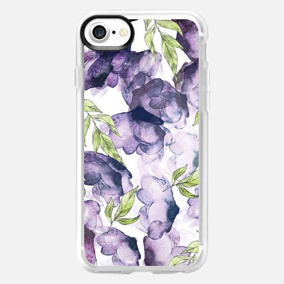 Watercolor - Ink Florals Phone Case -