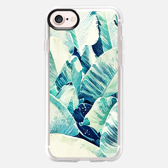 Banana Leaf Crush iPhone & iPod Case - Wallet Case