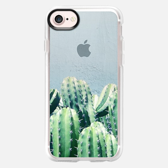 Cactus & Teal iPhone & iPod Case - Wallet Case