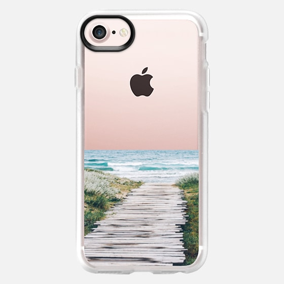 The Ocean is Calling & I Must Go iPhone and iPod Case - Wallet Case