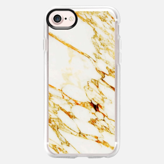 Gold Marble iPhone and iPod Case - Wallet Case