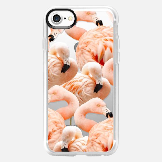 Flamingo Blush iPhone and iPod Case - Classic Grip Case