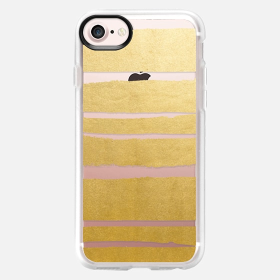 Gold Vibes Only iPhone and iPod Case - Wallet Case