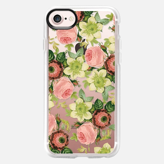 Hawaiian Flora iPhone and iPod Case - Classic Grip Case