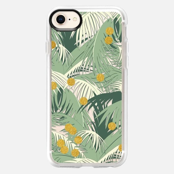 Palm Gold iPhone and iPod Case - Snap Case