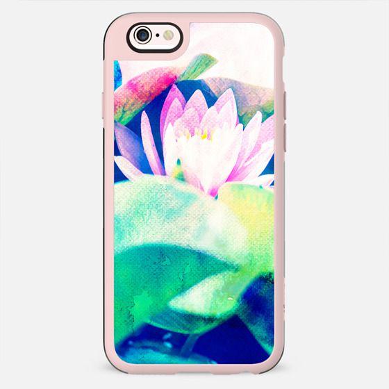 Watercolor Lotus Phone Case - New Standard Case