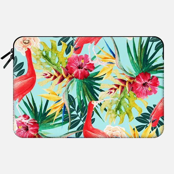 Hawaiian Vibe Macbook pro and Clutch -