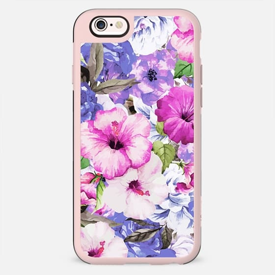 Purple Blossom iPhone and iPod Case - New Standard Case