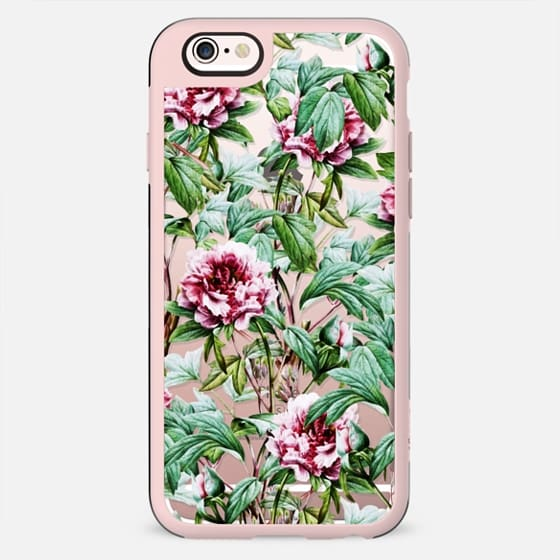Frosty Florals iPhone and iPod Case - New Standard Case