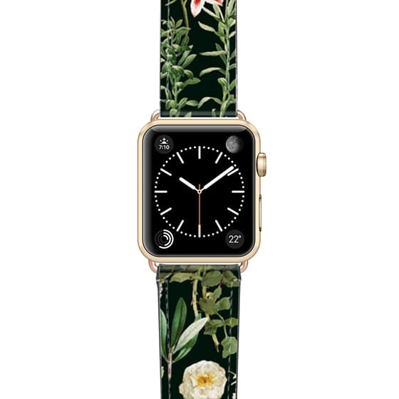 Dark Botanical Garden Watch Band