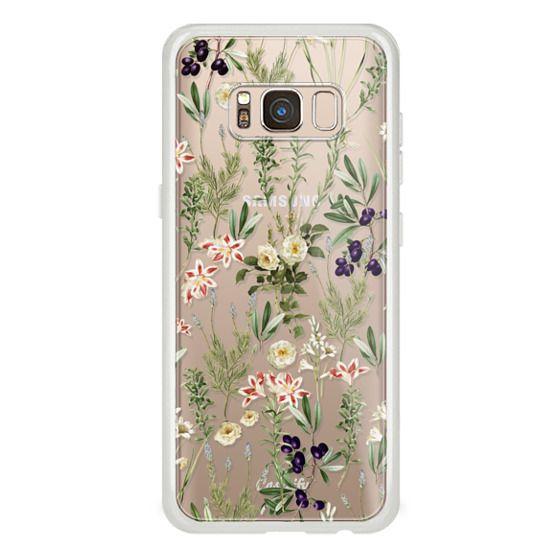 Dark Botanical Garden Phone Clear Case