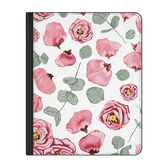 12.9-inch iPad Pro (2018) Covers - Rosy Romance iPad Case