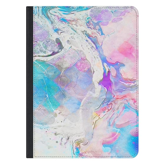 12.9-inch iPad Pro Covers - Messy Paint iPad Case