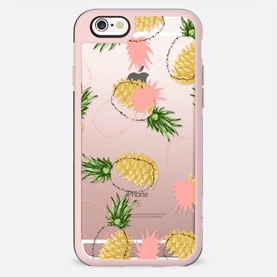 Pineapples & Pine Cones iPhone and iPod Case