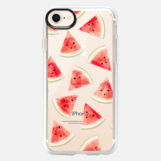 Watercolor Watermelon Pattern iPhone & iPod Case - Snap Case