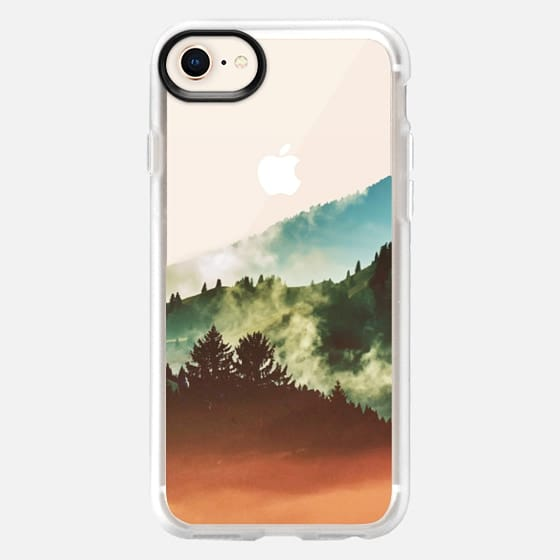 Mighty Mountain iPhone and iPod case - Snap Case