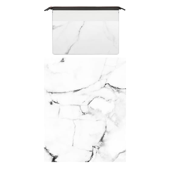 MacBook Pro Retina 15 Sleeves - Marble Addiction Macbook Pro and Clutch