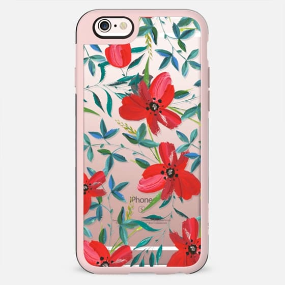 Red Blossom iPhone and iPod Case - New Standard Case