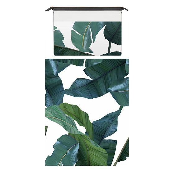 MacBook Pro Retina 15 Sleeves - Banana Leaf Decor Mac book Case