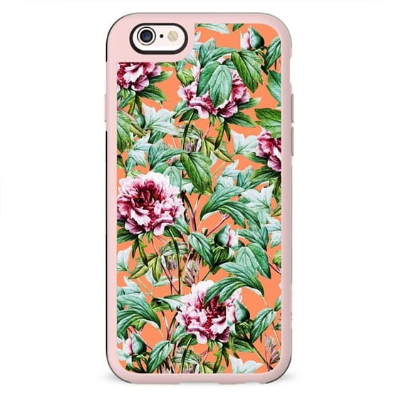 Frosty Florals V2 iPhone and iPod Case