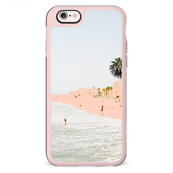 Pink Beach iPhone and iPod Case