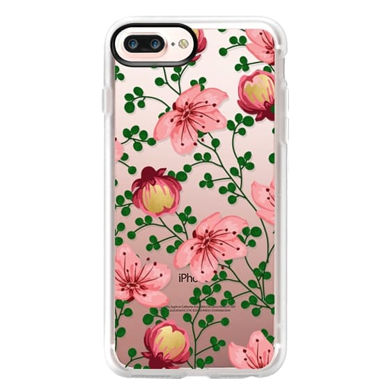 Blush Vines iPhone and iPod Case