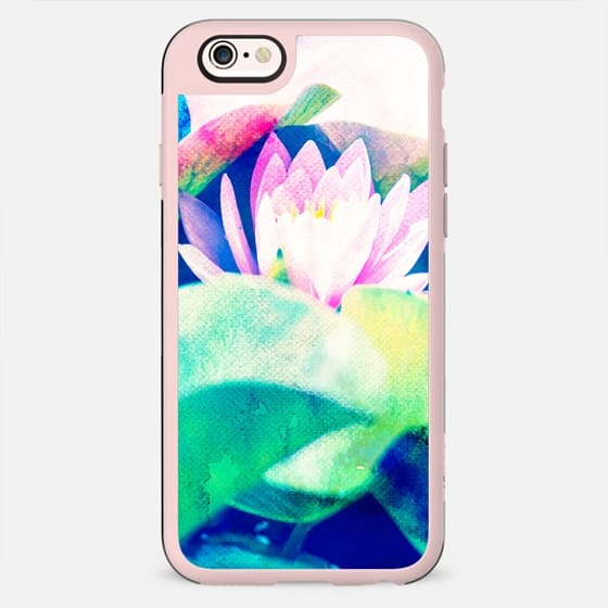 Watercolor Lotus Phone Case - New Standard Case