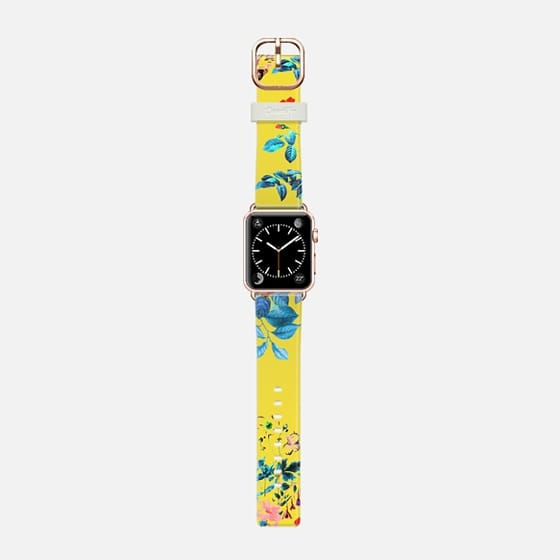 Floral Shower II Watch Band -