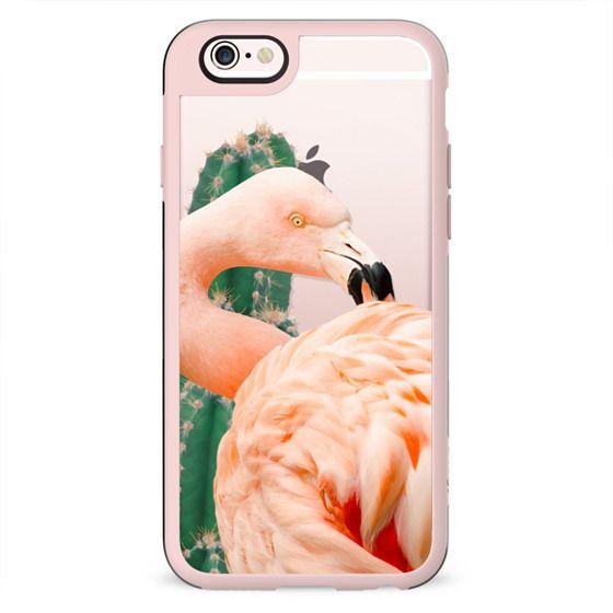 Flamingo & Cactus Phone Case