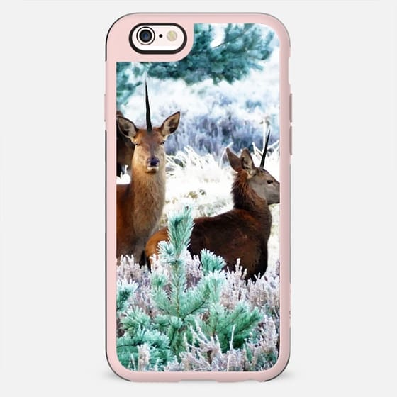 Unicorn Deer iPhone and iPod Case