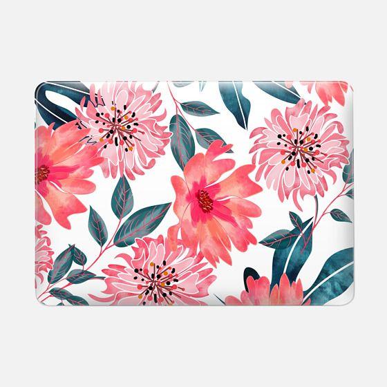 Yours Florally Macbook Pro - Macbook Snap Case