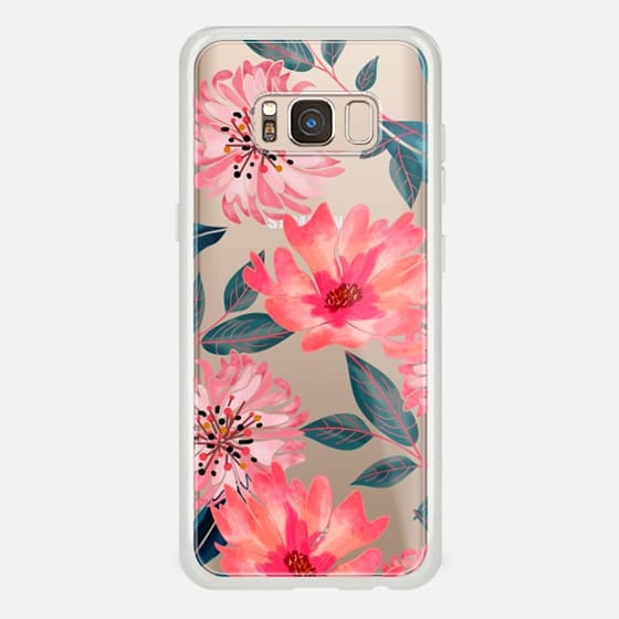 Yours Florally Phone Clear Case -