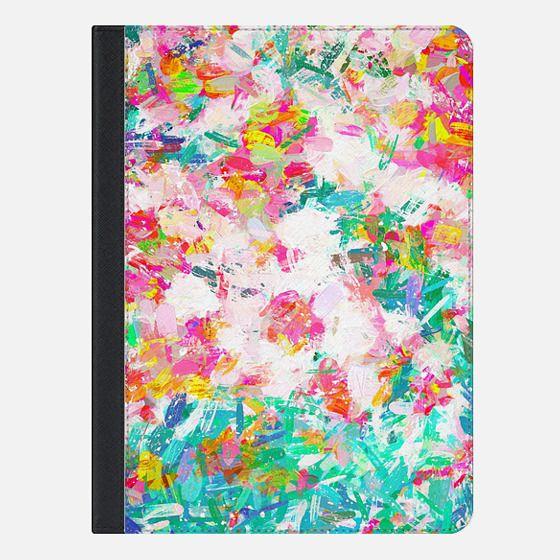 Painted Joy iPad Case - iPad Folio Case