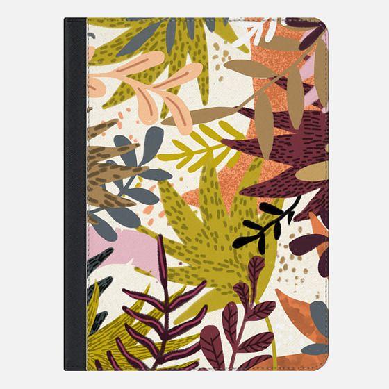 Earthy Forest-v2 iPad Case - iPad Folio Case