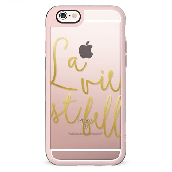 La vie est belle iPhone and iPod Case
