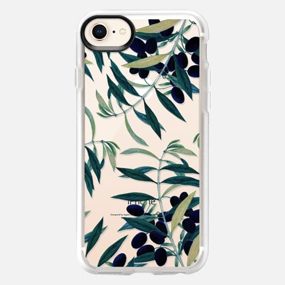 Olive Branch Pattern iPhone & iPod Case - Snap Case