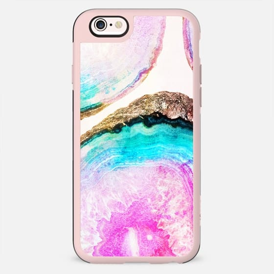 Agate Pattern Phone Case - New Standard Case