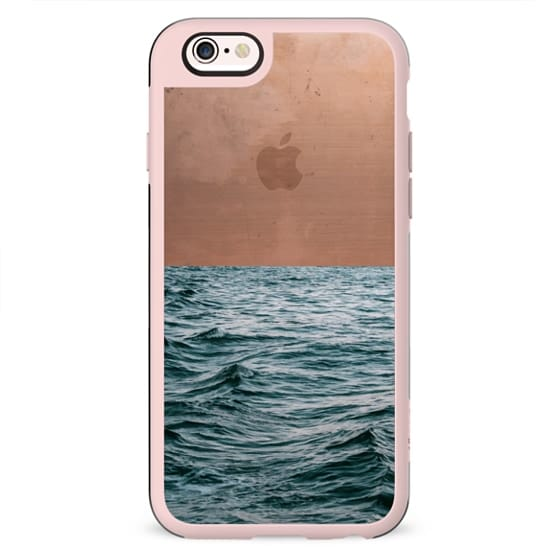 Ocean + Copper iPhone & iPod Case