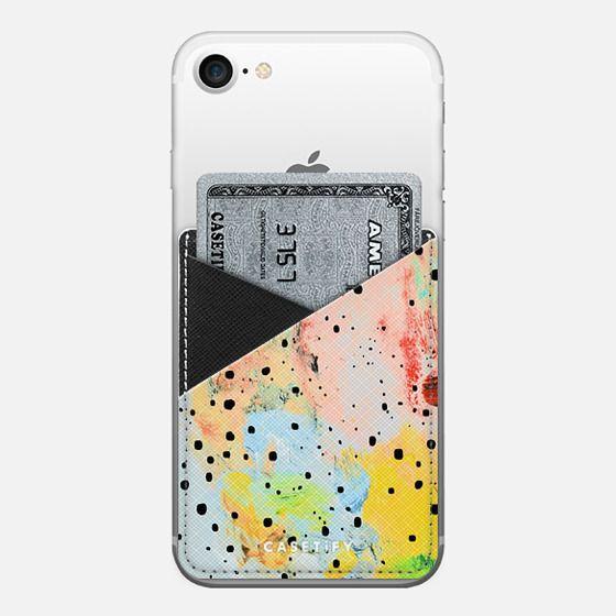 Feels Saffiano Leather Phone Wallet - Saffiano Leather Phone Wallet