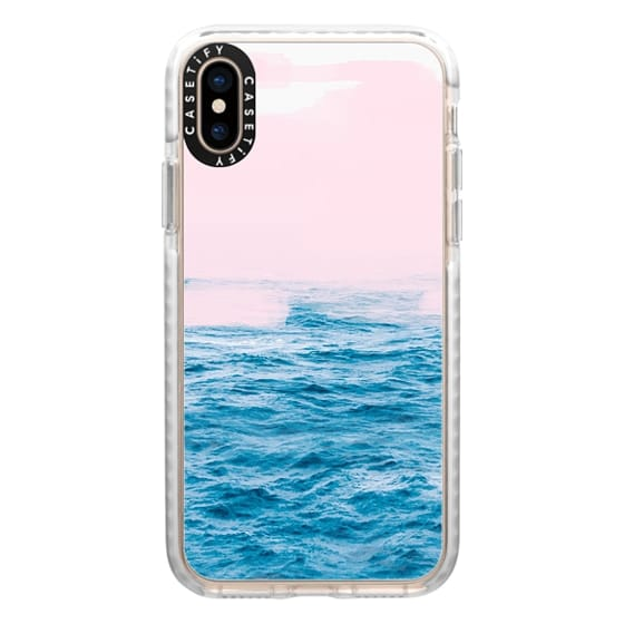 iPhone XS Cases - Ocean Pink by 83 Oranges