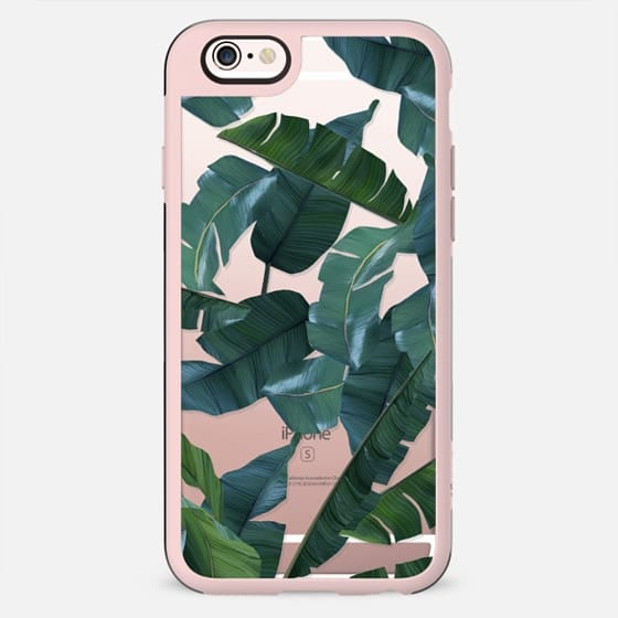 Banana Leaf Decor iPhone & iPod Case - New Standard Case