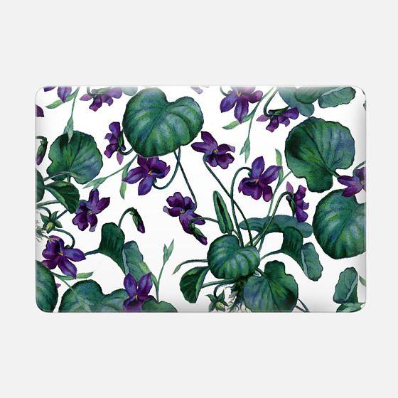 Violets Macbook Case -