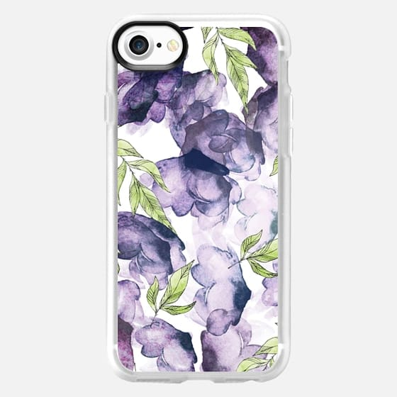 Watercolor - Ink Florals Phone Case -