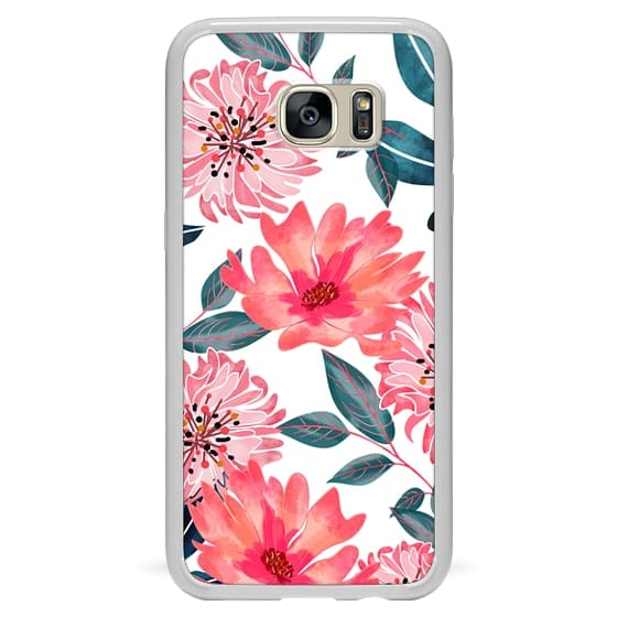 Samsung Galaxy S7 Edge Cases - Yours Florally Phone VS Case