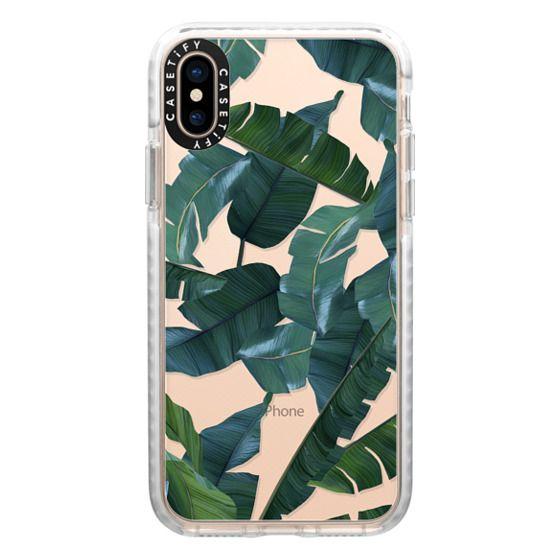 iPhone XS Cases - Banana Leaf Decor Phone Case