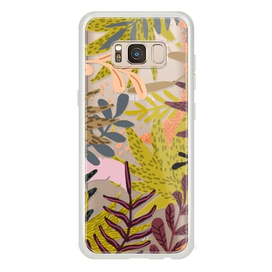 Samsung Galaxy S8 Cases - Earthy Forest-v2 Phone Clear Case