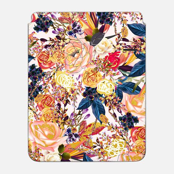 "iPad Pro 12.9"" Sleeve - Rustic Floral iPad Case"