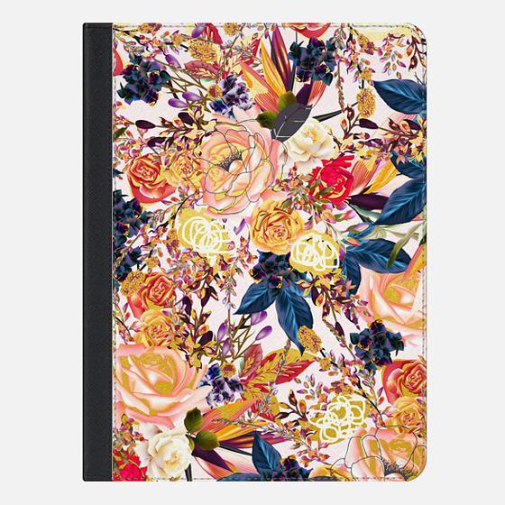 "iPad Pro 9.7"" Case - Rustic Floral iPad Case"